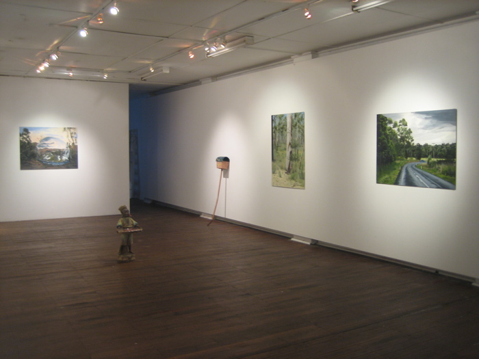 Work From Garage- Chalkhorse Gallery, Sydney 2008