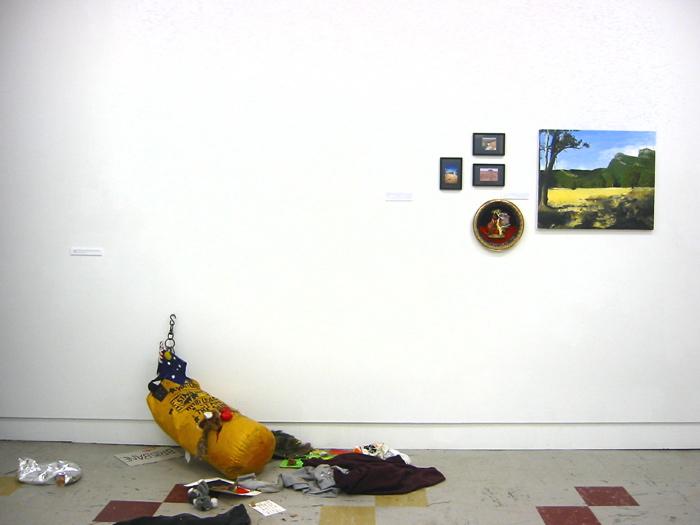 Paintings, TCB Oct 2004 Installation shot