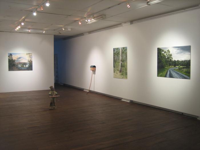Work From Garage- Chalkhorse Gallery, Sydney 2008